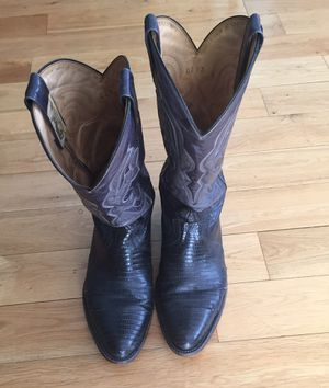 Lizard skin boots. Men's 9.5 by Montana for Sale in Los Angeles, CA