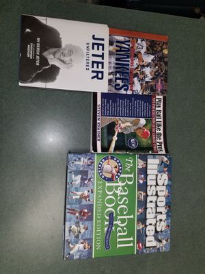 4 BASEBALL BOOKS for Sale in Queens, NY