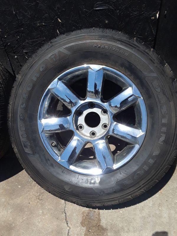 Used rims for infinity truck 18""