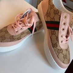 Pink And Tan Gucci Sneakers for Sale in Alexandria, VA