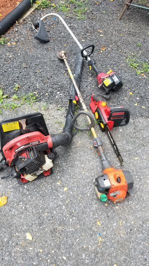 Lawn equipment,wood chipper,air compressor for Sale in Fort Washington, MD