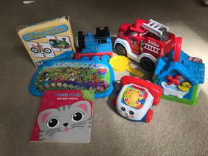 toys, books for kids around 2 for Sale in Bellevue, WA