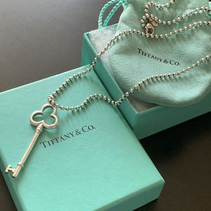 "Tiffany Retired Key 2.25"" - with 20"" ball chain for Sale in Tampa, FL"