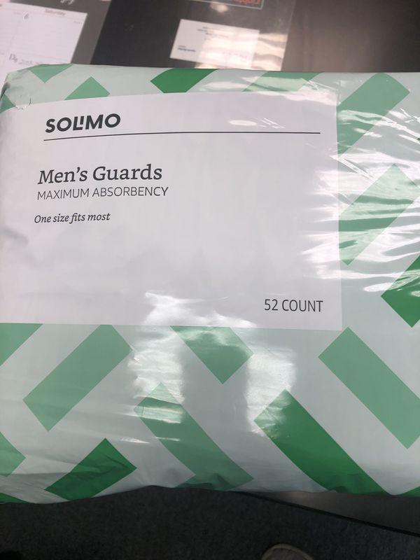Men's Incontinence Supplies