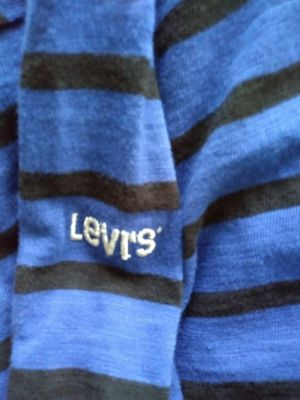 Levi's Blue and Black Striped Shirt for Sale in Allen Park, MI