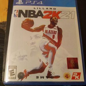 NBA 2k21 (Lillard edition) for Sale in Chicago, IL