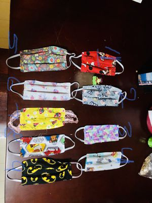 Mask for 2 years old and 4 years old for kids for Sale in Burlington, NC