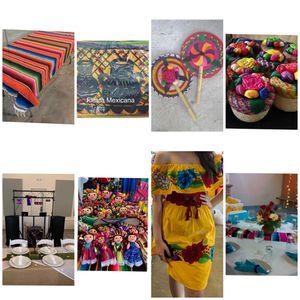 Fiesta mexicana accesorios. Varios precios. Preguntar!! for Sale in Cypress, TX