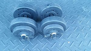 2x 20lb adjustable dumbbells for Sale in Wadsworth, OH