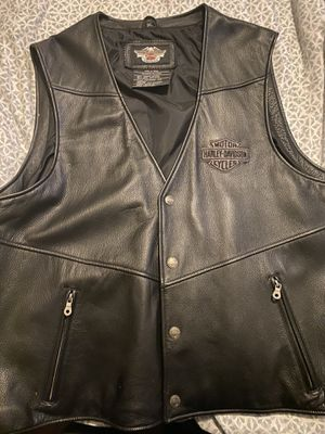 Harley Davidson Leather Vest 3XL New for Sale in Hawthorne, CA