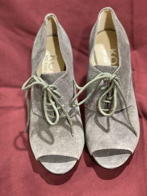 Michael Kors Suede Peep Toe 6M for Sale in La Mirada, CA