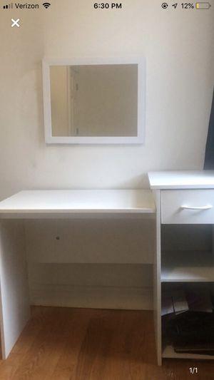 White desk for Sale in Cambridge, MA