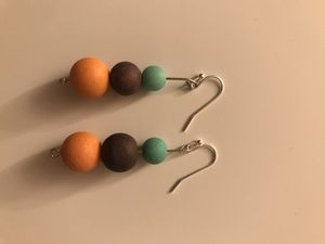 Gum ball drop earrings for Sale in Euclid, OH