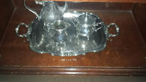 Gorham silver plated yc set xl tray for Sale in Apex, NC