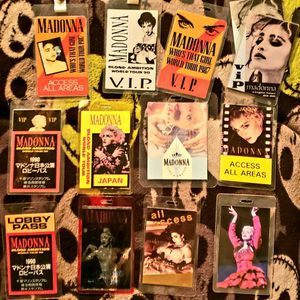 Madonna Backstage Passes for Sale in Monterey Park, CA