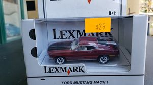GREENLIGHT DIE CAST 1:64 SCALE FORD MUSTANG MACH 1 for Sale in City of Industry, CA
