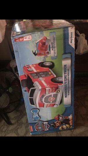 Paw Patrol Fire Truck Brand New for Sale in Alberta, AL