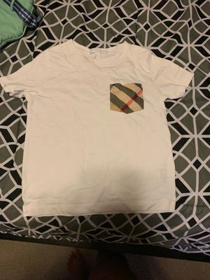 Toddler boy Burberry shirt 18 month t shirt for Sale in Temple Hills, MD