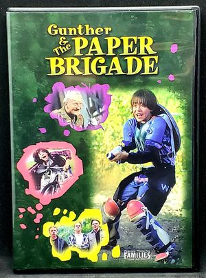 Gunther & The Paper Brigade (DVD, 2003) Feature Films for Families OOP NEW Open for Sale in Harrisonburg, VA