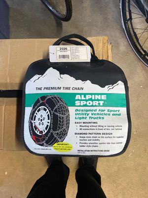 Tire Chains for Sale in Brier, WA
