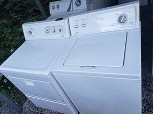 Refurbished Kenmore washer and dryer with WARRANTY for Sale in Butler, PA