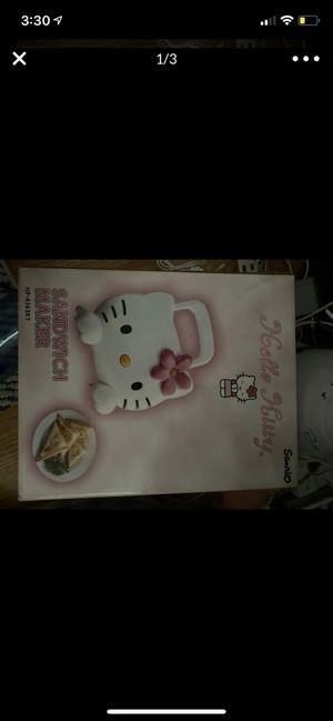 RARE: Hello Kitty sandwich maker BRAND NEW for Sale in Syosset, NY