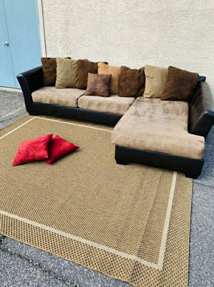 Gorgeous Brown Sectional , Delivery Available ASAP for Sale in Las Vegas, NV