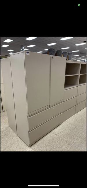 XL Herman Miller Storage cabinet/lateral filing combo for Sale in Columbus, OH
