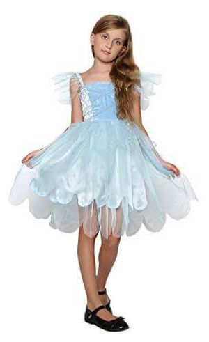 Girls Fairy Princess Dress Costumes with Wings Kids Tinkerbell Tutu Costumes for Sale in Houston, TX