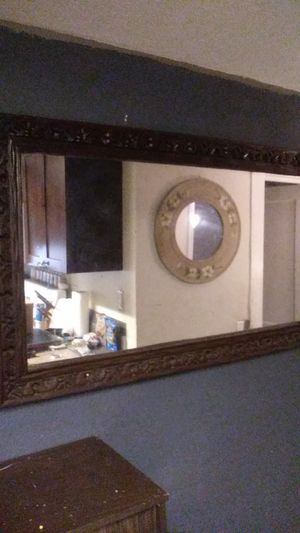 One of a Kind Hand Carved Antique Mirror for Sale in Tampa, FL