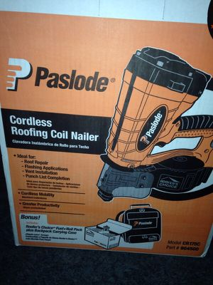 Paslode. Cordless roofing nailer. NEW for Sale in Des Peres, MO
