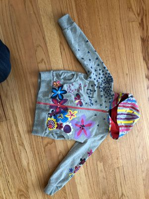 BOBOLI girls hoodie jacket size 116 6Y for Sale in Park Ridge, IL
