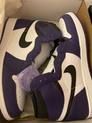 Air Jordan 1 Retro High Og court purple 2.0 size 10.5 DS for Sale in San Diego, CA
