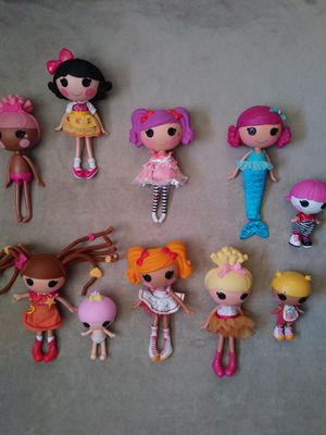 Lalaloopsy and Lalaloopsy Littles Dolls for Sale in Tucson, AZ