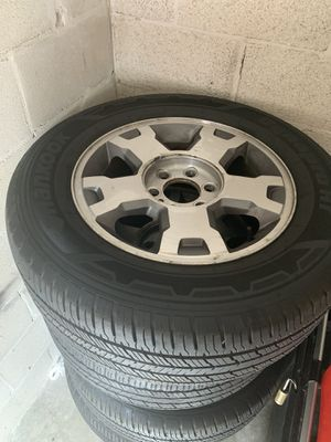 Stock tires and rims for Sale in Tampa, FL