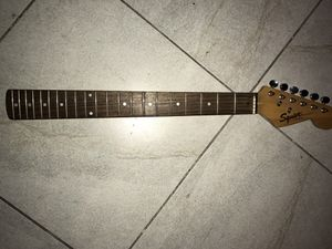 Squier bullet stratocaster guitar neck with tuners for Sale in Chandler, AZ