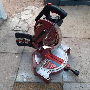 Tradesman 10' Compound Miter Saw [Read Description] for Sale in Phoenix, AZ