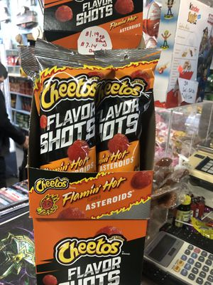 Asteroids ☄️ Flaming Hot 🥵 Cheetos for Sale in Los Angeles, CA