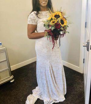 Wedding dress - size 10 for Sale in Herriman, UT