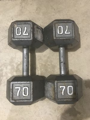 Dumbbells Hex Weights for Sale in Greensburg, PA