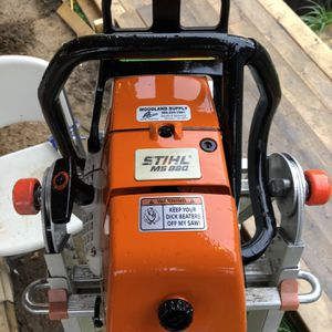 """Stihl 880 magnum 122cc Saw Wrap Handle With A 32"""" And A 36"""" Bar And Chain Set Ups for Sale in La Center, WA"""