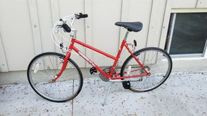 Vintage womens girls Mongoose Hill Topper road mtb hybrid city bike bicycle 18sp 26 tires 19 frame for Sale in Long Grove, IL