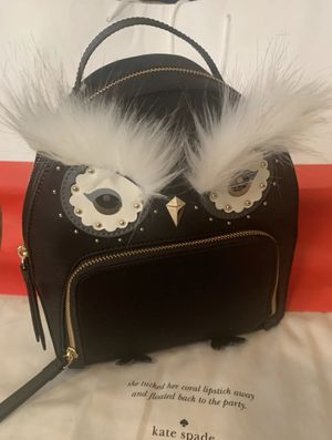 NWT KATE SPADE NYLON OWL TOMI STAR BLACK for Sale in Poolesville, MD