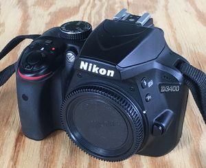 Nikon D3400 DSLR Camera - LIKE NEW! for Sale in Pembroke Pines, FL