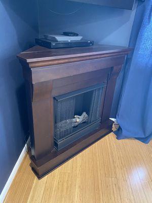 Corner fireplace for Sale in Bloomfield, NJ