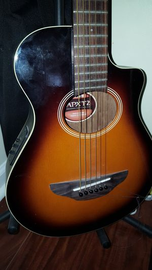 Kids Yamaha acoustic electric guitar for Sale in Lake Park, NC