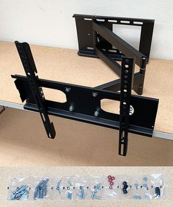 "New in box $30 Full Motion 23""-50"" TV Wall Mount Bracket 180 Degree Swivel Tilt, Max load 100Lbs for Sale in El Monte,  CA"