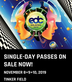3 day EDC Orlando ticket for Sale in West Palm Beach, FL