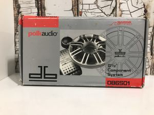 Polk Audio DB-6501 6.5 Component Set Car-Boat-Atv 100 watts for Sale in Denver, CO