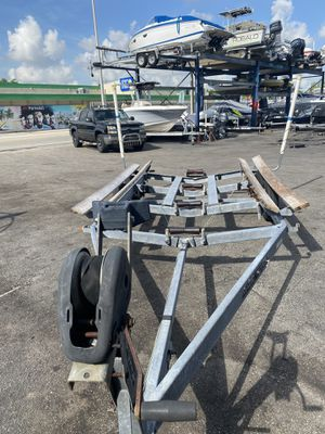 21 feet trailer one axle and double axle for Sale in North Bay Village, FL